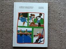 USPS COLLECTION OF STAMPS & STATIONERY FOR 1980  OLYMPIC GAMES IN HARDCOVER BOOK