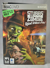 Stubbs the Zombie in Rebel Without A Pulse MAC DVD Video Game PC mature 2005