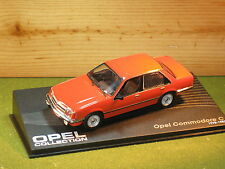 OPEL Commodore C / Vauxhall Viceroy/ Royale 4 Door in Orange 1/43rd Scale