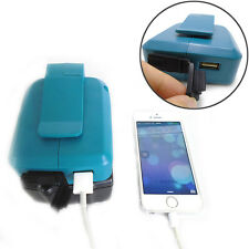 2017 Makita Battery 2 USB Ports Charger Adapter for BL1830 BL1430 Mobile Devices
