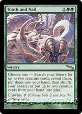 TOOTH AND NAIL Mirrodin MTG Green Sorcery RARE