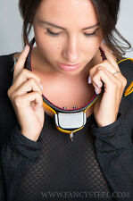 New chastity belt and accessories Electric training collar by Fancy steel