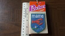 Maine Lobster Voyager Travel Souvenir Patch - Brand New - Free Shipping!