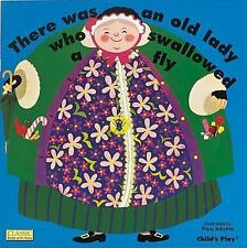 Classic Books with Holes 8x8 Ser.: There Was an Old Lady Who Swallowed a Fly...