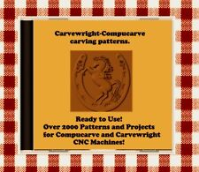 NEW CD with Over 2000 Sears Craftsman Compucarve and Carvewright Patterns !