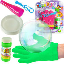 Bouncing Bubble Bubbles Set Blaster Squirt Outdoor Sport Kids Fun Toys Toy