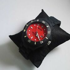 NEW! AUTHENTIC RUDY PROJECT PRIMEX UNISEX WATCH (BLACK/RED)