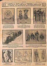 La Ferté-Vidame Eure-et-Loir/Poilus Prisonniers en Allemagne Feldgrauen WWI 1915