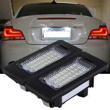 2xError Free LED License Plate Light Lamp For BMW E82 E88 E90 E92 E39 E60 E61 M5