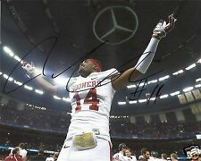 AARON COLVIN OKLAHOMA SOONERS SIGNED 8X10 PHOTO W/COA