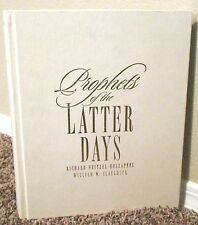 PROPHETS OF THE LATTER DAYS by Holzapfel & Slaughter LDS MORMON LARGE TABLE TOP