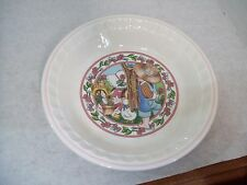 1989 Watkins Country Kids Collector's Pie Plate w/Recipe w/Box,Pumpkin Ride,#4/5