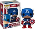 Captain America Pop! Vinyl Bobble-Head Figure * NEW In Box * Funko * Marvel