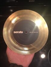"GOLD Serato   Custom control GOLD vinyl 7""  Vinyl  Performance Series"