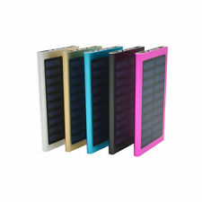 100000mAh Dual USB Portable Solar Battery Charger Solar Power Bank For Phone