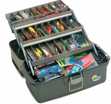 Plano Large Three Tray Tackle Box Fishing Bait Full Bait Storage Case Lures New