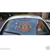 "Manchester United OFFICIAL Car Window Sticker A3 LARGE 12"" GIFT"
