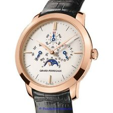 NEW Girard Perregaux Vintage 1966 Perpetual Calendar Moonphase watch.