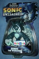 SONIC THE HEDGEHOG WEREHOG FIGURE NEW RARE TOYS R US EXCLUSIVE UNLEASHED