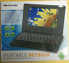 SOUNDLOGIC 7inch ANDROID 2.2 NETBOOK TABLET W/ Keyboard 3-USB SD CARD