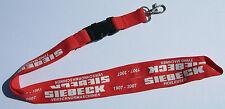 SIEBECK tying machines Schlüsselband Lanyard NEU (T142)