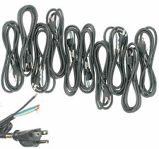 Lot 10 6FT 16/3 13A 125V Replacement Power Cord for Tools