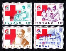 Tuvalu 1988 MNH 4v, Red Cross, First Aid, Medicine, Junior Scout, Wheel Chair, H