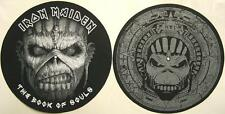 IRON MAIDEN DJ SLIPMAT FILZMATTE THE BOOK OF SOULS 2er SET