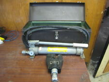 Anderson VC6 Dieless Hydraulic Crimper Greenlee T&B Burndy VC6 WITH PUMP USED