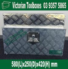 580x250x420mm Heavy Duty Aluminium Under Body ToolBox Caravan Ute Truck Tool box