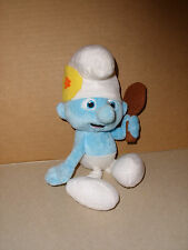2013 VANITY SMURF SOFT STUFFED PLUSH DOLL TOY KELLYTOY 10 IN EXCELLENT