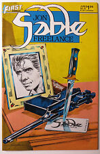Jon Sable, Freelance #25 (Jun 1985, First Comics) (C3656)