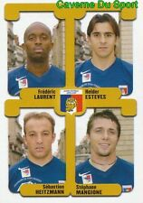 428 LAURENT ESTEVES HEITZMANN MANGIONE  DIJON.FCO STICKER FOOT 2005 PANINI