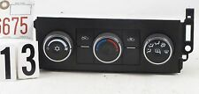 05 06 GMC ENVOY TRAILBLAZER YUKON DIGITAL CLIMATE CONTROL PANEL SWITCH