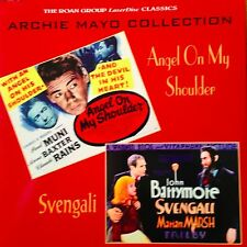 Angel On My Shoulder / Svengali - Archie Mayo Laserdisc Buy 6 for free shipping