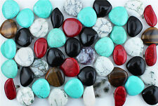 Wholesale Lot 5pcs Color Desgin Mixed Irregular Personality Turquoise Jugar Ring