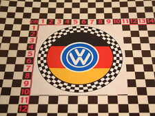 Checked Sticker - Volkswagen VW Beetle Camper Van Karmann Ghia Type 2 3 Scirocco