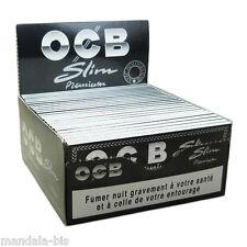 OCB SLIM Premium - Boite de 50 Carnets PROMO Point Relais !
