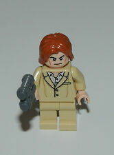 Lego Minifigure - SH222 - Lex Luthor from set 76046 - Tan Suit - with accessory