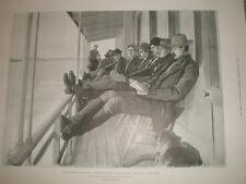 Homeward Bound oro extractiva 1898 antiguos impresión mi REF T