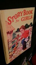 Story Book for Girls Renwick of Otley, London UK  Vintage 1950s Book