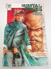 Oriental Heroes #1 August 1988 Jademan Comics with poster Tony Wong