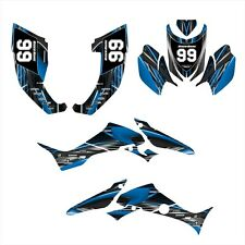 TRX300EX Graphics for Honda TRX 300 EX decals 2007 - 2013 #3333 Blue