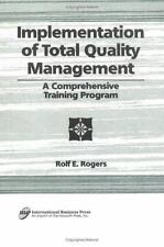Implementation of Total Quality Management: A Comprehensive Training P-ExLibrary