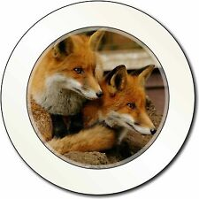 Cute Red Fox Cubs Car/Van Permit Holder/Tax Disc Gift, AF-11T