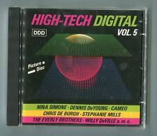 V.A. cd-sampler HIGH-TECH DIGITAL vol. 5 © 1988 FRIDA CHANNEL 5 AGNEHA FÄLTSKOG