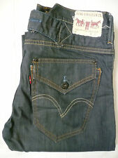 LEVI'S 503 MENS JEANS LOOSE STRAIGHT CUT CINCH BACK W32 L32 STRAUSS BLUE LEVF503