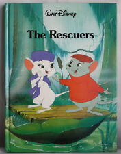 Disney The Rescuers classic series hardcover storybook 1989 Gallery Twin book