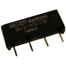 Meder SIL12-1A72-71D Relais 12V 1xEIN 1000 Ohm SIL Reed Relay mit Diode 047179