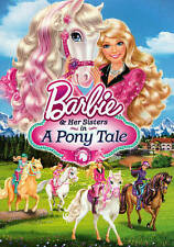Barbie  Her Sisters in A Pony Tale (DVD, 2013) Pre Owned